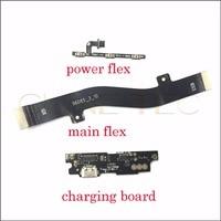 1pcs del volume di potere Micro USB di Ricarica Del Bacino di Ricarica PCB Board Flex scheda Principale della scheda madre del Cavo Meizu M3 Nota M681Q m681H