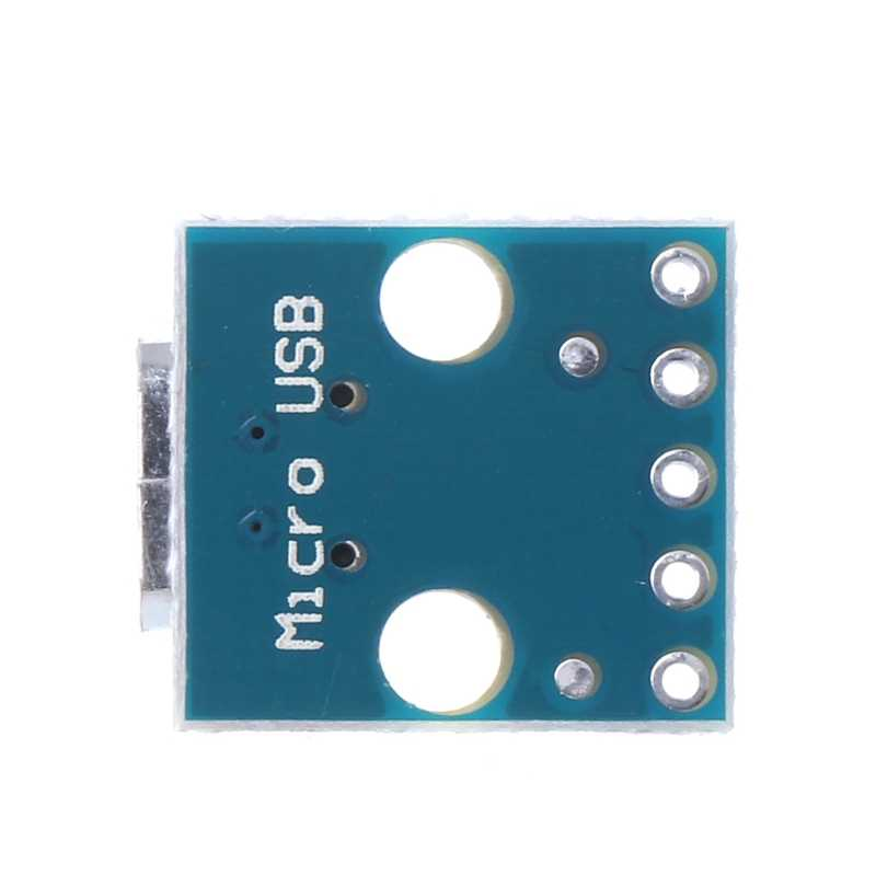 Adjustable Constant Voltage Current Power Supply Module Female MICRO USB To DIP 5-Pin Pinboard 2.54mm Micro USB Type Hot Sell