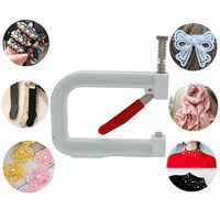 Nailed Bead Machine Clothing Manual Pearl Cap Rivet Craft DIY Repair Knit Tool DC112