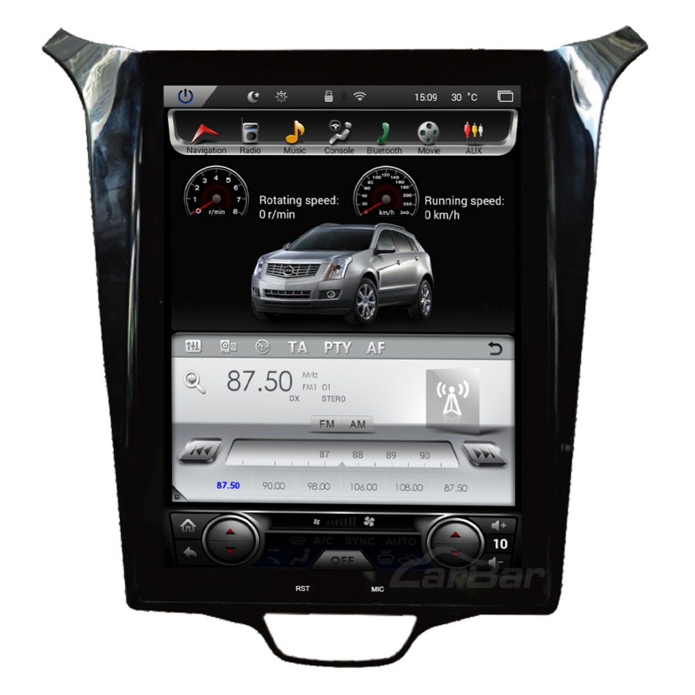 10 Vertical Screen HD Intelligent GPS Navigation for Chevrolet Cruze 2009 2014