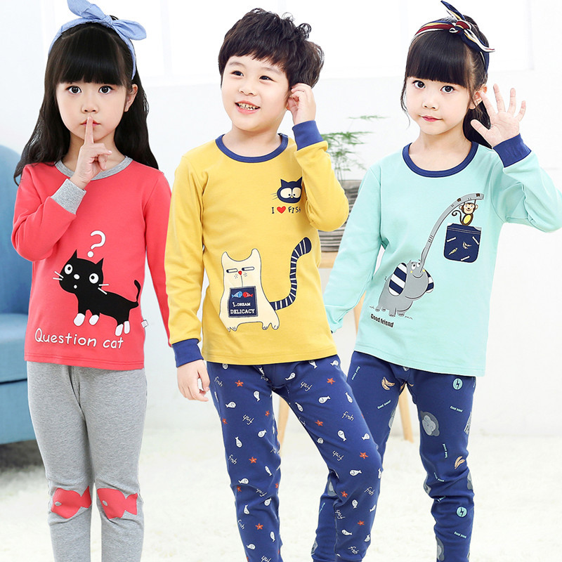 Winter children's pajamas baby boys pajamas sets unicornio kid clothing pajamas for girls pijama infantil kids boy pyjama enfant