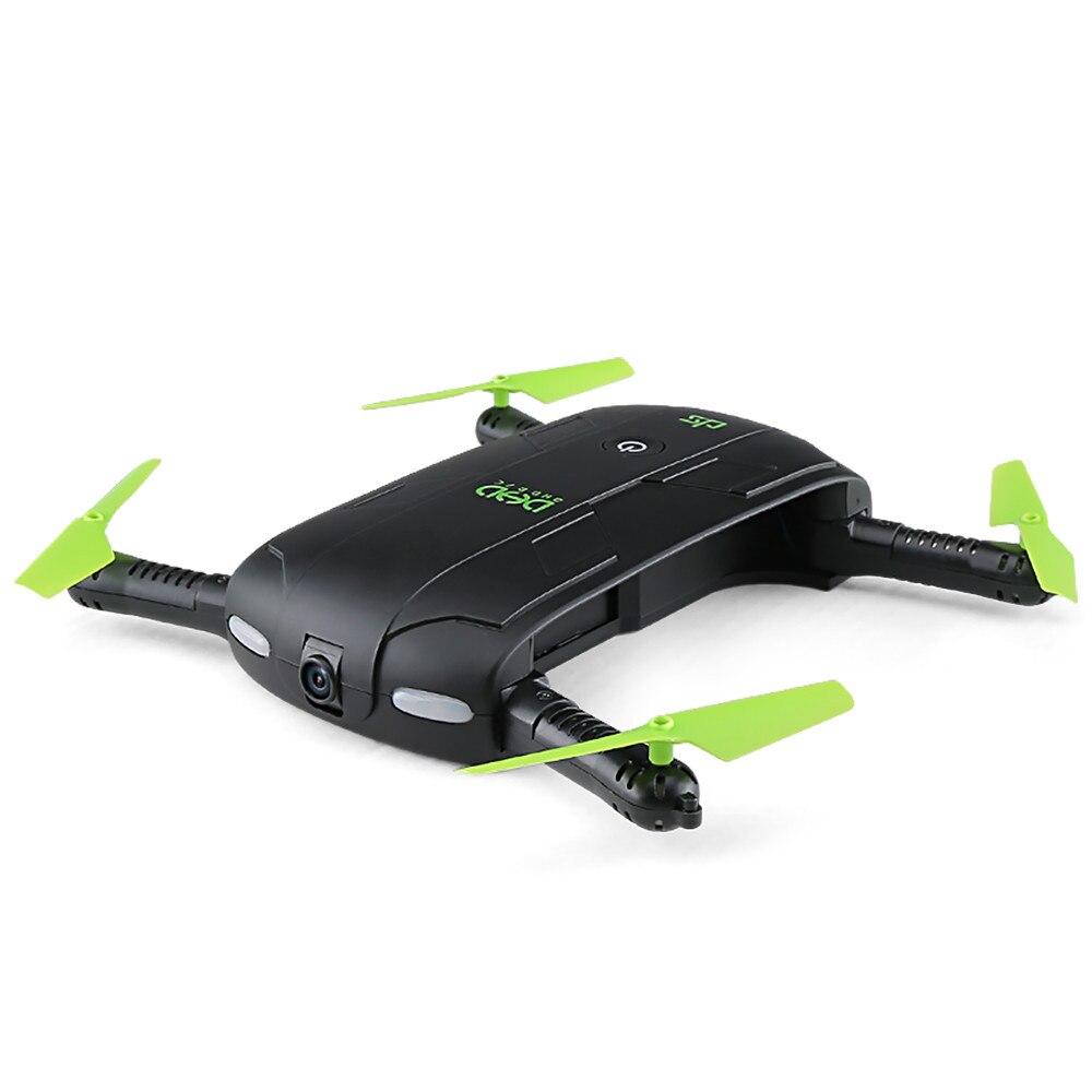 DHD Mini Selfie Foldable Camera Pocket RC Drone  2