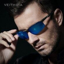 Men's Color Film Sunglasses, Aluminum And Magnesium Polarized Lens Sunglasses, Driving The Driver's Mirrored Sunglasses