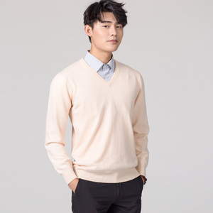 Image 3 - Man Pullovers Winter New Fashion Vneck Sweater Cashmere and Wool Knitted Jumpers Men Woolen Clothes Hot Sale Standard Male Tops