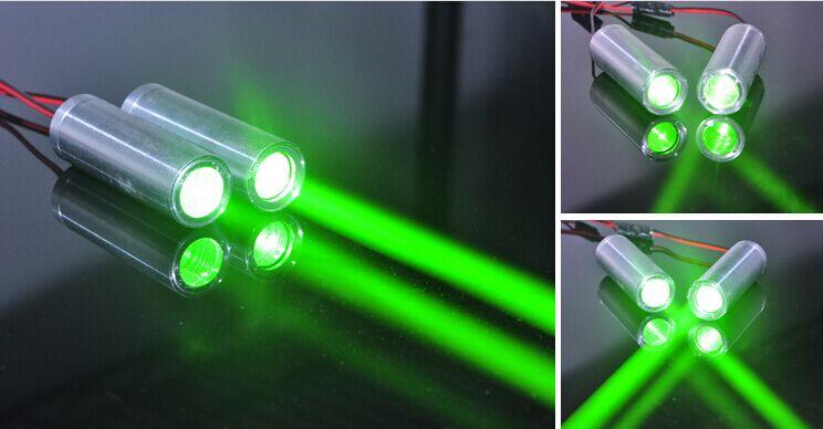 Fat Beam 532nm 50mW Green Laser Diode Module for KTV Bar DJ Stage Lighting fat beam 60mw 532nm laser diode module w ttl