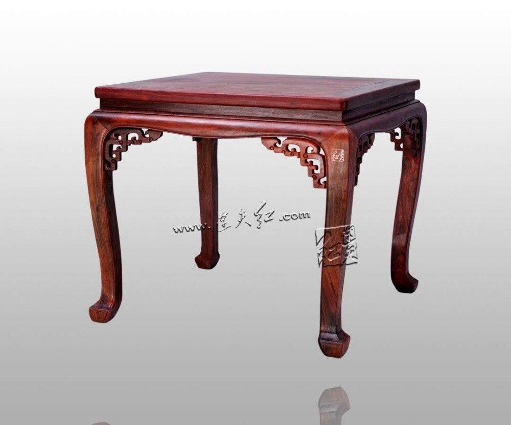 Meubels Massief Hout : Ouderwetse vierkante tafel voor acht mensen palissander meubelen