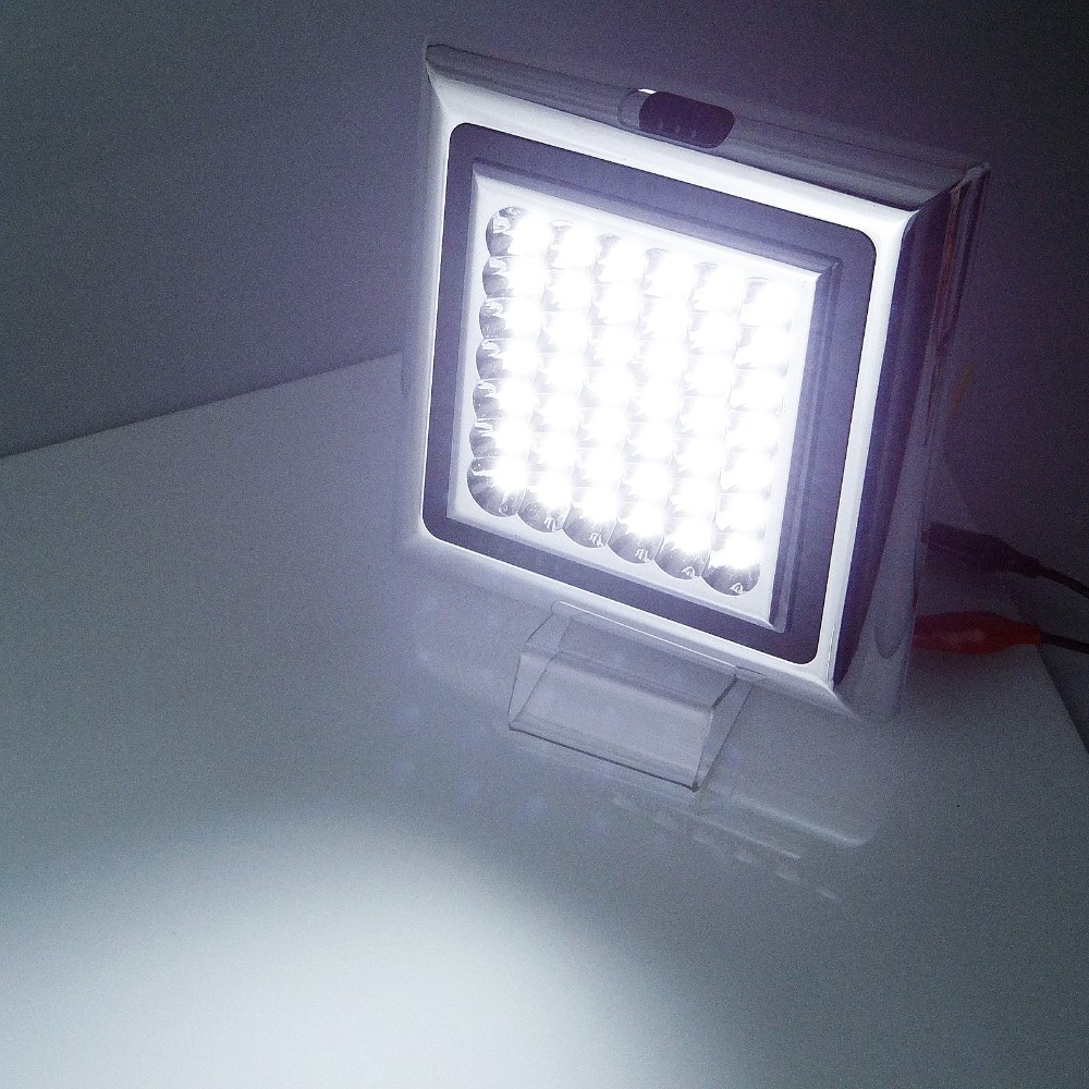 White Super Bright Square 12V 42 LED INTERIOR CABIN LIGHT