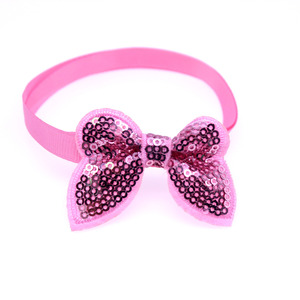 Image 5 - 50pcs Pet Supplies Dog Accessories Bright Sequin Pet Dog Cat Bow Ties Neckties Puppy Bow tie Dog Party Decoration Products