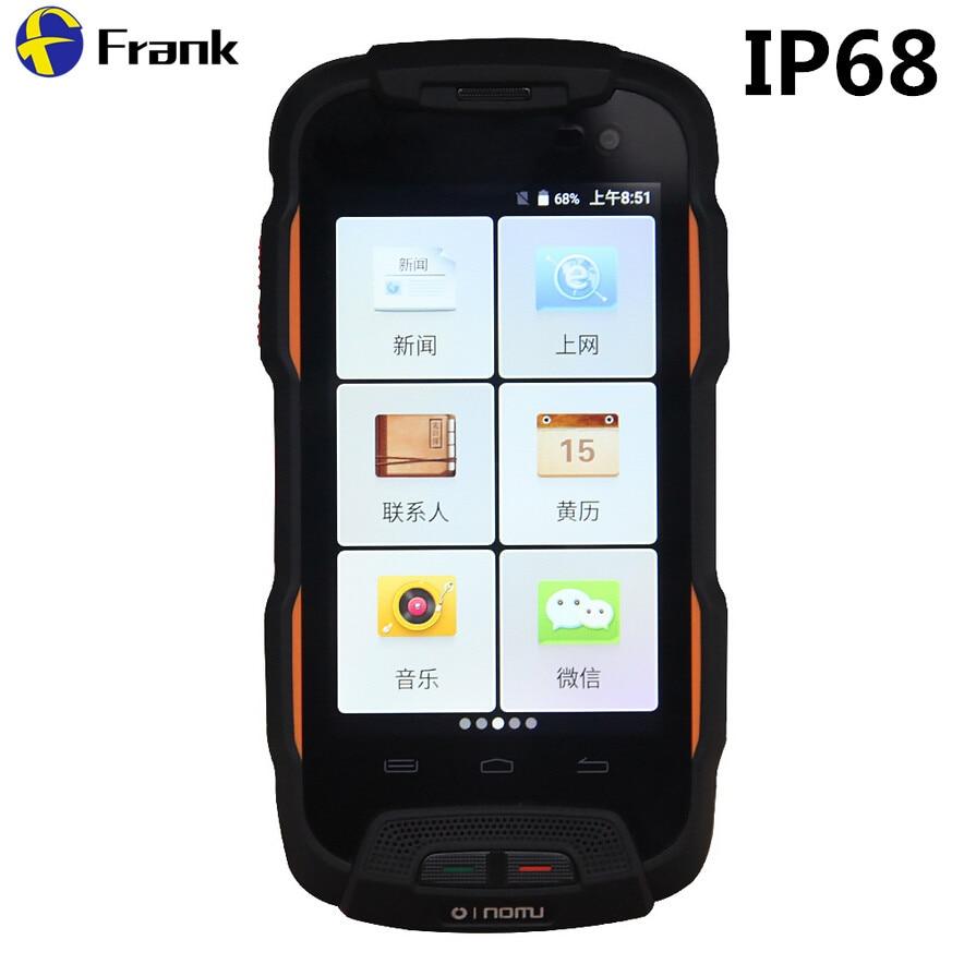 OINOM LMV9T Waterproof Phone 4G IP68 Shockproof Smartphone 5200mAH MTK6735 Quad Core 4inch 2G RAM 16G