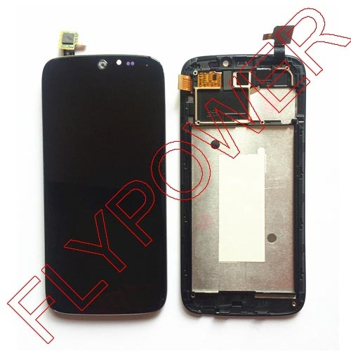 for Acer Liquid Jade S55 Lcd Display With Black Touch Screen digitizer + Frame assembly by free shipping; 100% warranty wholesale price for acer liquid jade s55 lcd display digitizer touch screen for acer liquid jade lcd free shipping