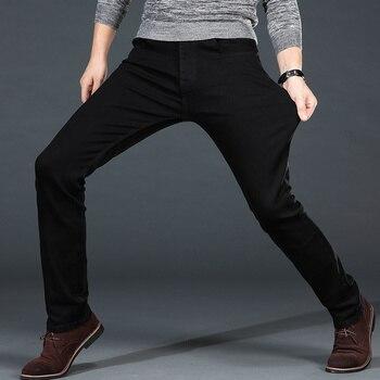 Classic Black Stretch Jeans 4