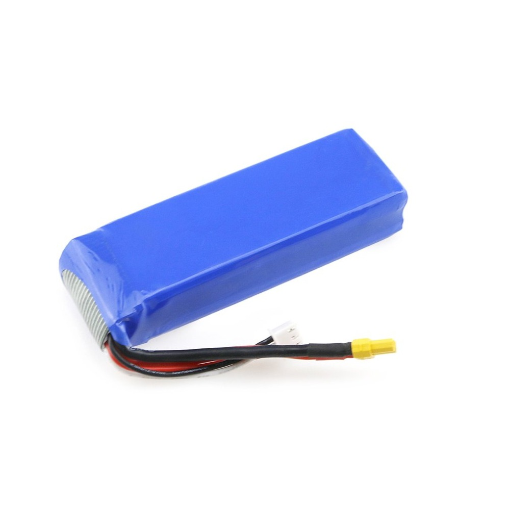 Upgraded <font><b>7.4V</b></font> <font><b>2300mAh</b></font> 2S 35C Li-po Rechargeable <font><b>Battery</b></font> with XT30 Plug Spare Parts Accessory for MJX Bugs 3/6 B3/B6 RC <font><b>Battery</b></font> image