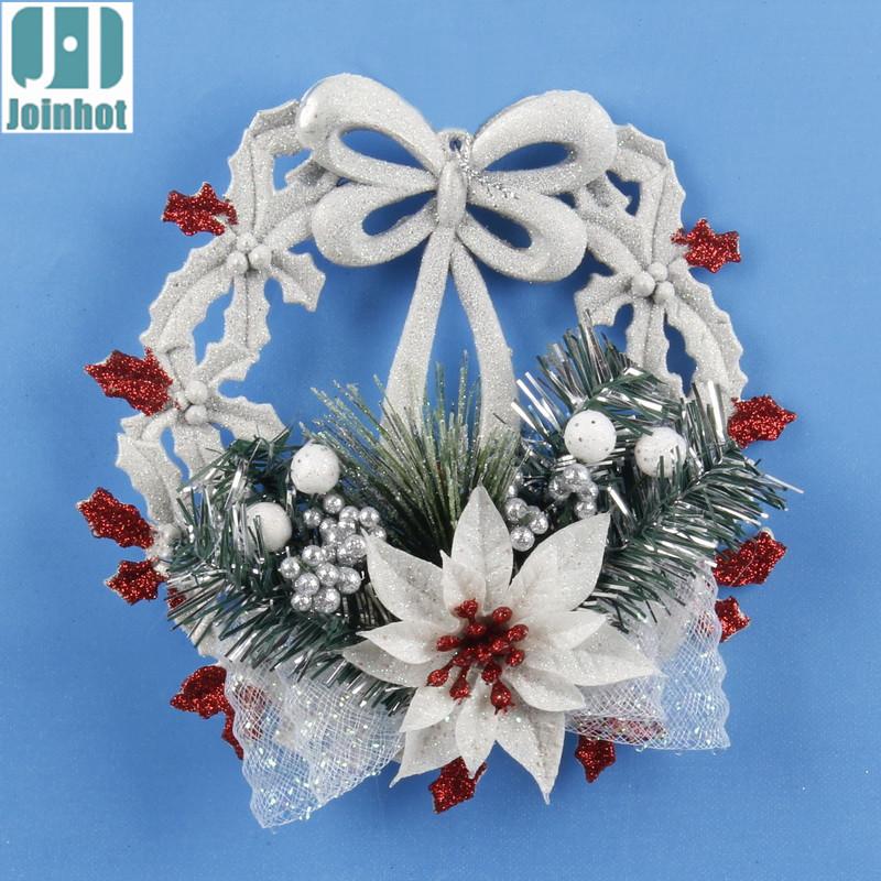 para el hogar ventana adornos de navidad rbol de navidad decoracin colgante corona con un