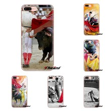 Soft Transparent Shell Covers For Xiaomi Redmi 4A S2 Note 3 3S 4 4X 5 Plus 6 7 6A Pro Pocophone F1 Spanish Bullfighter bullfight(China)
