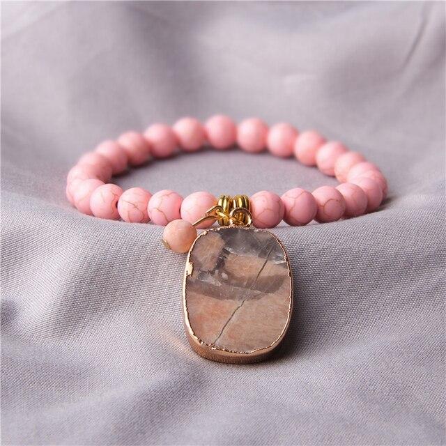 Amazonite Brute Bracelet
