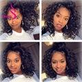 Brazilian Virgin Hair Bundle And Closure Deals 4 Bundles With Closure Deep Curly Deep Wave Brazilian Hair Bundles With Closure