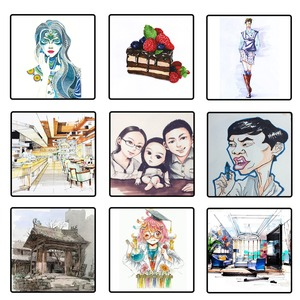 Image 5 - TOUCHNEW 30 40 kolorowy długopis profesjonalny najwyższej jakości artysta dwustronny permanentny pióro artystyczne komiks do rysowania artystycznego