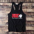 men tank tops Personality street casual fitness daily cheap undershirt boy plus size loose united state of american USA gorilla