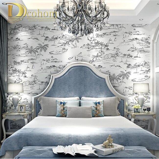 vergelijk prijzen op wall paper bedroom - online winkelen / kopen, Deco ideeën