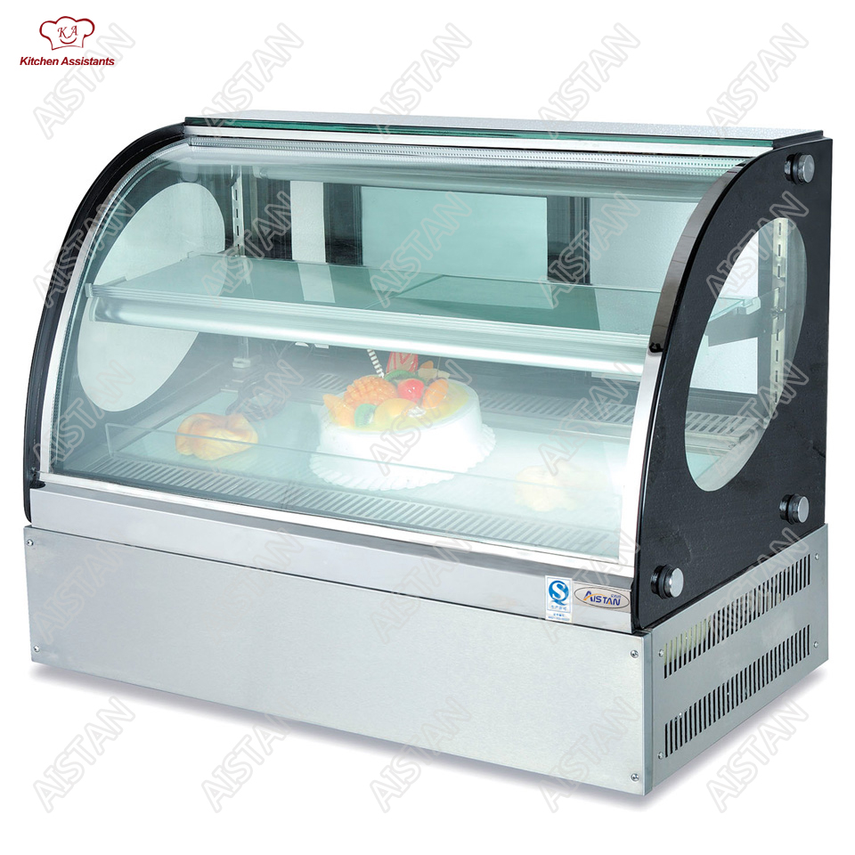 цена CT900 Counter top cake display showcase machine