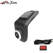 WHEXUNE оригинальный U3 Мини Full HD 1080 P Видеорегистраторы для автомобилей Камера ADAS Авто Цифровой Видео Регистраторы регистраторы для андроид мультимедийный проигрыватель