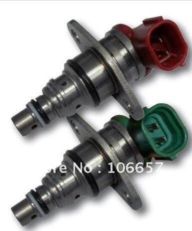 Darmowa wysyłka jeden szt zielony i jeden szt czerwony dla TOYOTA zawór regulacji ciśnienia SCV 096710-0052 i 096710-0062 na sprzedaż