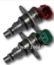 Envío gratis pc una verde y una piezas de color rojo para TOYOTA Válvula de Control de Presión SCV 096710-0052 y 096710-0062 para la venta