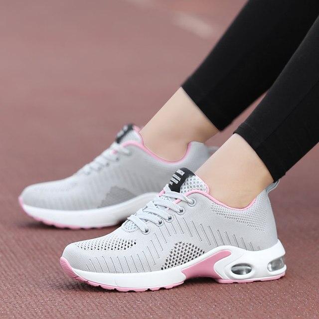 cómo llegar captura última moda Zapatos deportivos para mujer, zapatos deportivos para correr, zapatillas  de deporte de marca de aire para mujer, zapatillas de deporte de verano, ...