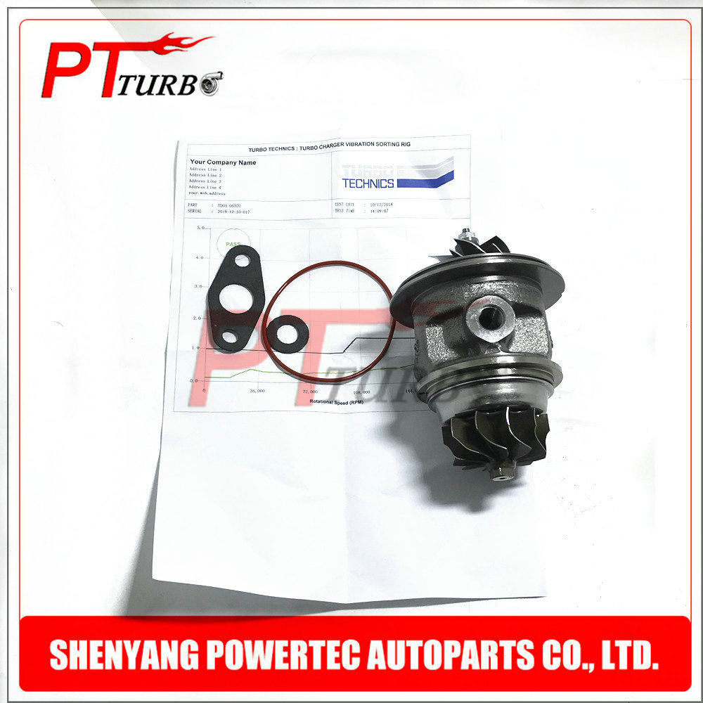 CHRA turbine TD03 49131 06300 for Ford Ranger 2.2 L Engine PUMA 2012   turbo cartridge Balanced BK3Q6K682NB core NEW repair kits-in Air Intakes from Automobiles & Motorcycles    1