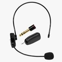 2.4G Draadloze Luidspreker Microfoon met 6.5mm Adapter Audio Versterker Headset Luidspreker Megafoon voor Onderwijs Vergadering Speech