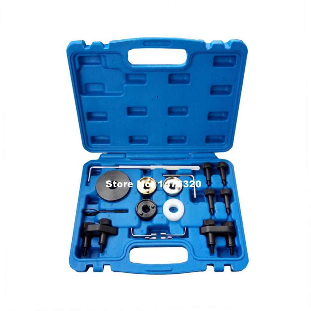 Automotive Engine Timing Camshaft Locking Setting Tool Kit For Audi VW SKODA VAG 1.8 2.0 TFSI EA888 AT2233  high quality diesel engine timing locking tool for vag 2 7