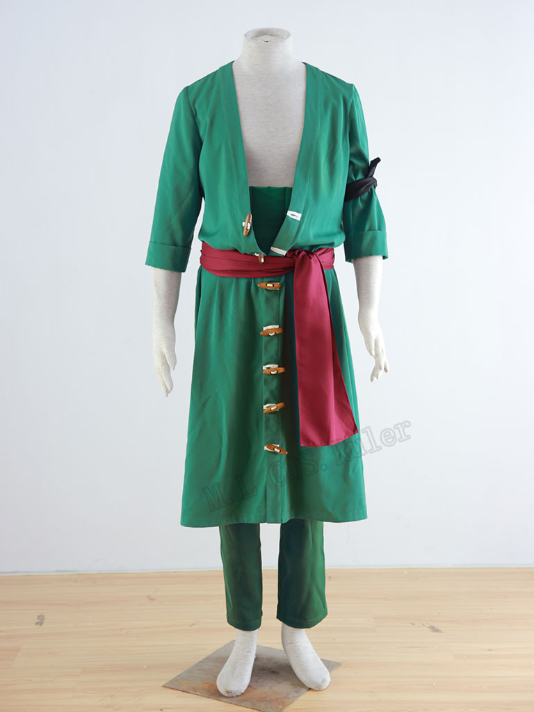 High-quality One Piece Cosplay Costumes Roronoa Zoro Free Shipping