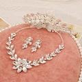 3 PCS de cristal conjuntos de jóias de noiva colares Phoenix coroa de flores de casamento por atacado jóias nupcial headpiece