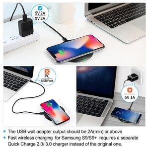 Image 5 - CHOETECH 10W Qi Caricatore Senza Fili per il iPhone 12 X Xs Xr 8 Veloce Wireless pad di Ricarica per AirPods Samsung galaxy Note 9 S10 S9/S9