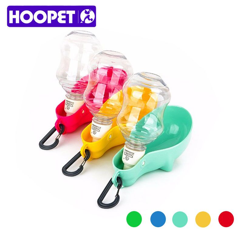 HOOPET The New Listing Portable pet dog drinking out of water bottle practical large capacity Safe and sound