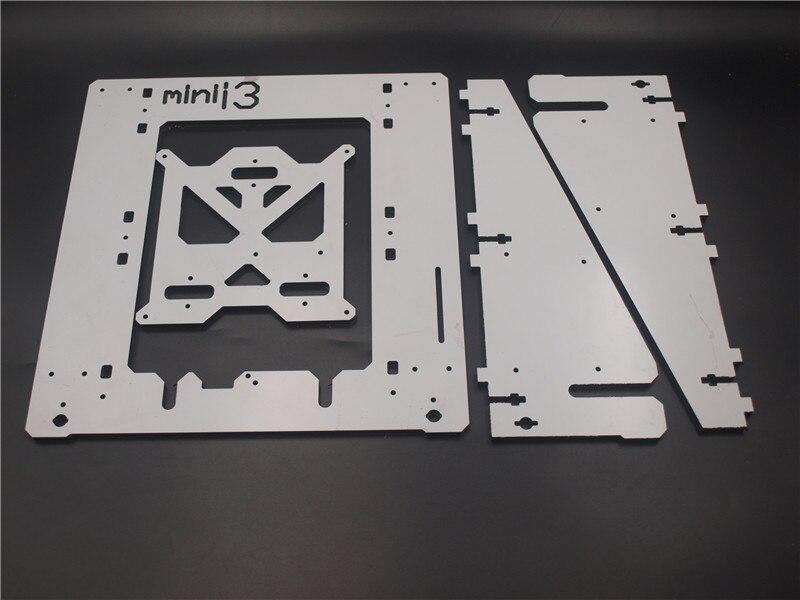 Reprap mendel prusa mini i3 aluminum composit frame 6 mm Melamine plate