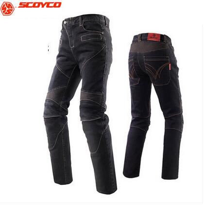 SCOYCO P043 oxford fabric motocross pants,motorcycle trousers with knee hip pad.equipamento pantalon moto
