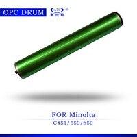 1 قطع c 451 آلة تصوير ضوئي متوافق opc طبل ل كونيكا مينولتا c451 c550 c650 ناسخة أجزاء