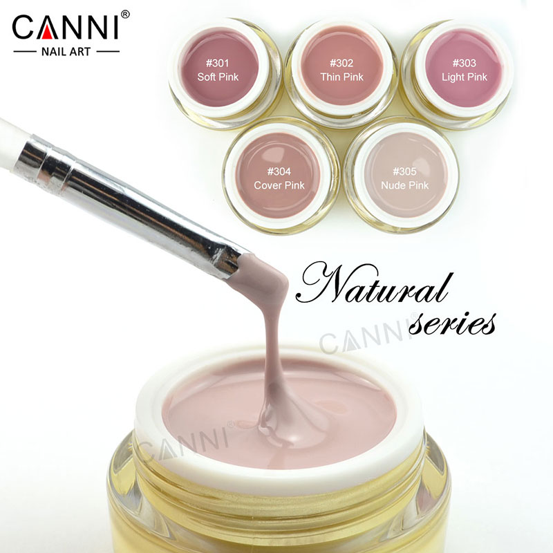 #50951 CANNI 15 Colors Cheap UV Builder Gel 15ml Soak Off Camouflage UV Builder GEL