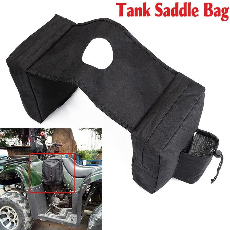 Image 2 - ATV UTV Motorcycle Cargo Pocket Fuel Tank Storage Saddle Bag Case 37.5cmx26.5cm
