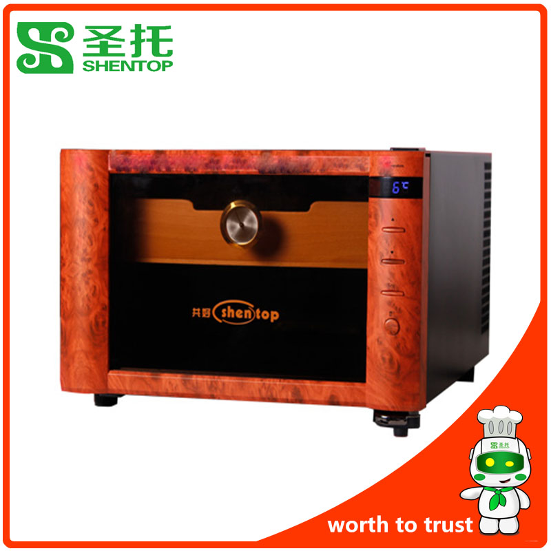 Shentop STH-08B table cigar humidor free shipping thermometric cigar cabinet for home