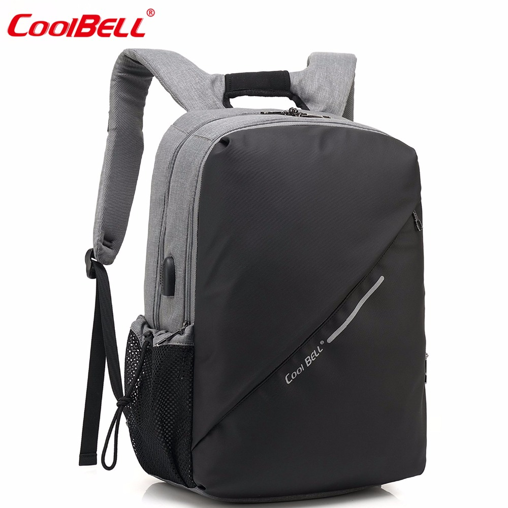 15.6 Inch Laptop Backpack Men Women Mochila Notebook Multi-functional Travel Bag Fits Laptop For Macbook / Asus / Lenovo / Acer