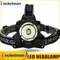 3800LM LEVOU Farol Farol CREE T6 LED Head Lamp Torch Alimentado Lanternas de LED Bike Pesca Torch para 18650 Carregador de Bateria