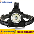 LED Headlamp 3800LM Headlight CREE T6 LED Powered Head Lamp Torch LED Flashlights Biking Fishing Torch for 18650 Battery Charger