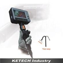 Dr4540t1 OD 4.0 мм 2 варианта направлении инспекции бороскоп Камера 4.3 »ЖК-дисплей Водонепроницаемый промышленности, трубки видео эндоскоп 1.5 м кабель usb