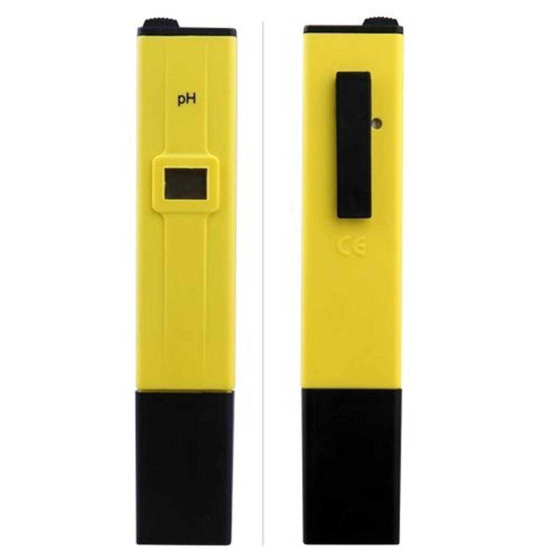 Hydroponics Aquarium Pool Water Test Tools Backlight LCD Digital 0-14 PH Meter Conductivity Tester