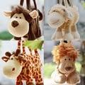 1 pc Chegada Nova Alta Qualidade Super Bonito Dos Desenhos Animados Animal Flush Bolsa Boneca de Brinquedo para Crianças/Presente Das Crianças