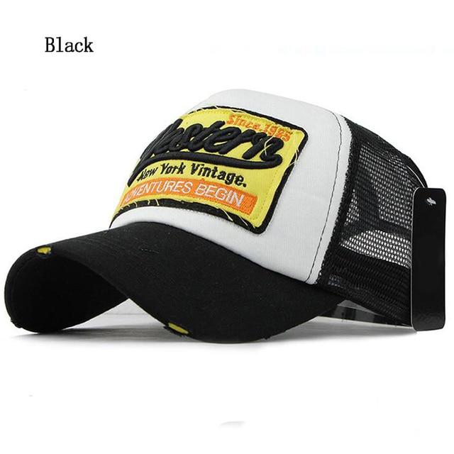Fashion New Men's Baseball Cap Women Gorras Mesh Casual cap Summer Sun Hat wholesale 4