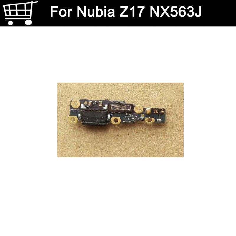 Utilisé testé Bonne Charge Port Connecteur USB Charging Dock Conseil Flex Câble pour Nubia Z17 Z 17 NX563J USB Charge conseil
