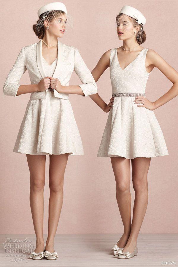 Короткое пальто для свадебного платья